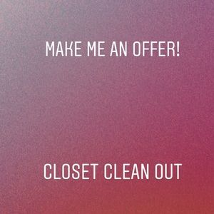 Other - Close clean out make an offer